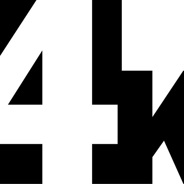 4K / intervence studentů KVV na videostěnu