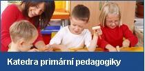 katedra primární pedagogiky