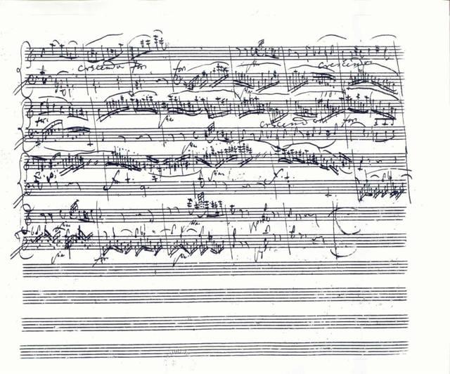 Mozart:rondo a mol, posledná strana