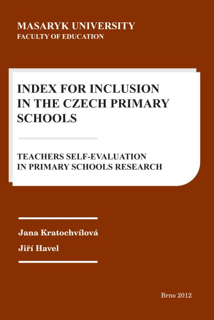 Výsledek obrázku pro Index for Inclusion in the Primary Schools - Teachers Self-evaluation in Primary Schools – Research